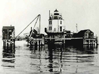 Baltimore Harbor Lighthouse 1908